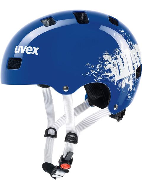 UVEX Kid 3 Fietshelm Kinderen blauw